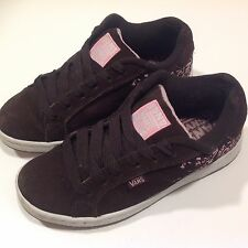9a932b466c VANS SIZE 3 UK YOUTH SKATES BROWN SUEDE TRAINERS SKATEBOARD SEE DESCRIPTION