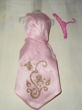 Vintage BARBIE * HTF SEARS EXCLUSIVE TICKLED PINK FORMAL OVERDRESS WITH GLITTER