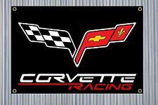 C6 Corvette Racing Banner [5 COLORS]   24''x36'' Garage Banner