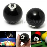 NEW # 8 Billiard Pool Ball Replacement EIGHT BALL Standard Regular Size 2 1/4 ""