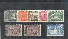 MALAYA, KELANTAN Sc 84-90(SG 96-102)*F-VF LH 1961 SULTAN PETRA SET (5c HR) $80