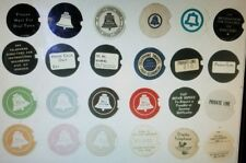 Western Electric bell telephone dial centers card stock dial cards number card 8