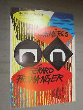 GERARD FROMANGER AFFICHE  ORIGINAL1985