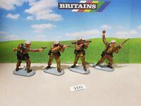 Britains Super Deetail Modern British SAS soldiers - Set of 4   (lot 3331)