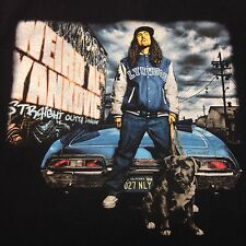 Weird Al Yankovic Straight Outta Lynwood Tour Black Large 2-sided T-shirt