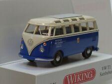Wiking 1:87 VW T1 Pritsche Doka Montagewagen OVP Sonderfarbe resedagrün