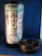 Dog Sled Team Thermal Tumbler by Jody Bergsma Siberian / Alaskan Malamute