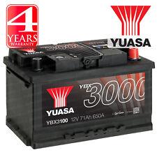 Yuasa Car Battery Calcium 12V 650CCA 71Ah T1 For Opel Meriva 1.2 1.3 CDTi