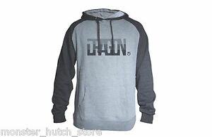NEW WITH TAGS Dragon Alliance ICON FIRM Pullover Hoodie CHARCOAL MEDIUM-XLARGE