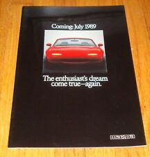 Original 1989 Mazda MX-5 Miata Sales Brochure
