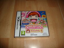 Nintendo DS Region Cooking mama World Combo pack Vol 1