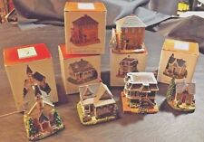 5 Liberty Falls Village Collection Buildings With Original Boxes - 2001