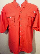 COLUMBIA PFG Performance Fishing Vented Shirt (Sz 2XL) Omni-Shade feb78b671449