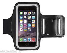 Bracciale Fascia braccio Sport per Apple iPhone 5S SE Armband fitness corsa Nera