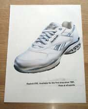 REEBOK ERS - ORIGINAL FOOTWEAR ADVERT POSTER - TRAINING SHOE ADVERT