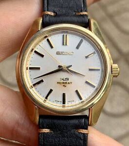 Vintage KING SEIKO KS45-7000 SGP Hi-Beat Hand-winding Men's Watch.
