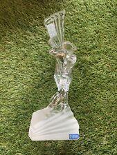 """The Golf Player Decorative Object Cristal de Sèvres Sevres France Statue 10.5"""""""