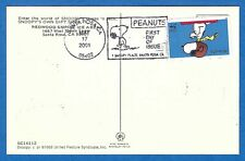Snoopy The Red Baron Wwi Flying Ace Snoopys Own Gift Shop Peanuts Stamp Postcard