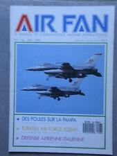 AIR FAN N° 126 POULES SUR LA PAMPA/TURKISH AIR FORCE/DEFENSE AERIENNE ITALIENNE