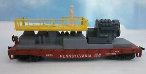 Lionel Postwar HO Scale 0870 Pennsylvania Maintenance Car