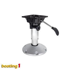 Boat Seat Pedestal Waverider Gas Lift & Suspension Adjustable 340mm-450mm