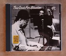 Duke Ellington and Ray Brown - This One's For Blanton / Analogue Productions Ltd