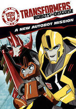 New Sealed Transformers Robots in Disguise A new Autobot Mission Cartoon DVD