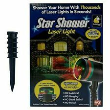 Star Shower Indoor/Outdoor Laser Christmas Holiday Light show Projector