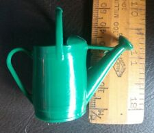 Vintage Retro Fairylite Green Plastic Watering Can - Doll's House Miniature