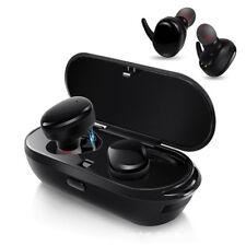 TWS Waterproof Wireless Earphones Earbuds Twins Stereo Sport Bluetooth Headset