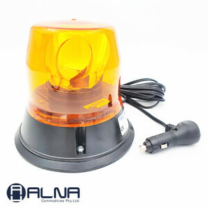 ECCO EB7813A-MG LED Beacon AMBER Rotating Beacon Safety Light Magnet Base