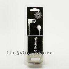Skullcandy JIB In-Ear Buds Earphones Headphones w/Mic Headset White/Black NEW