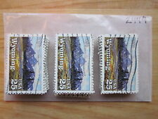 # 2444 x 100 Used US Stamps Lot  Wyoming Statehood Issue  see our other lots