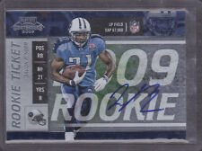2009 Playoff Contenders #134 Javon Ringer Auto RC Rookie