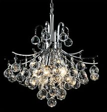 Palace Contour  6 Light 16x20 Crystal Chandelier Light chrome -Precio Mayorista
