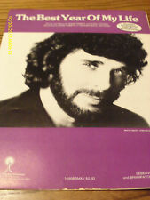 Eddie Rabbitt The Best Year Of My Life 1984 Photo Sheet Music