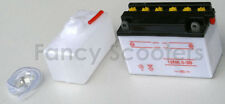 Battery 12N6.5-3B (12V 6.5AH) HENSIM TIERRA ATV,X-15,X-19,X-18,X-22 POCKET BIKE