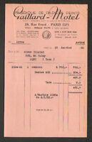 """PARIS (XII°) USINE de SAINT-MAUR (94) PAPIERS PEINTS """"GAILLARD - MOTEL"""" en 1952"""