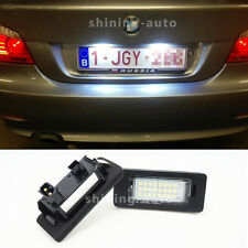2x Canbus White LED Car License Plate Light bulb for BMW E39 E60 E90 F30E92 etc