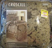 Croscill Sorina Queen Size 4-Piece Comforter Set - Mocha