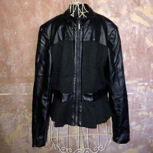 Julien McDonald's STAR Collection @ Debenhams • Size 14 • Faux Leather Jacket