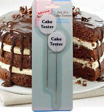 NEW Cake Tester Kitchen Baking Cupcake Muffin Bread Dough Probe Skewer Cooking
