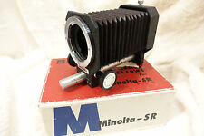 Minolta-SR Camera Extension Bellows boxed and in excellent condition