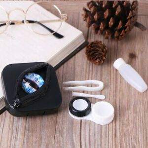 Portable Contact Lenses Storage Case Halloween Gifts Eyes Personality Lens Bo_SI