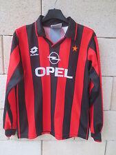 VINTAGE Maillot MILAN AC Lotto maglia shirt Milano trikot Opel 164 XS