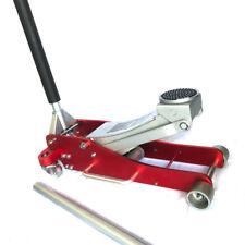 3 Ton Aluminum Steel Hydraulic Floor Jack Garage Low Profile Lift Stand Tool