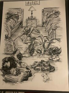 Forrest Fenn Original Illustration from his Memoir too far to walk