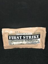 MILITARY MRE CHOCOLATE FIRST STRIKE ENERGY RANGER BARS SNACK RATIONS CHOCOLATE