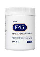 E45 DERMATOLOGICAL CREAM 500G FOR DRY SKIN FLAKY DRYNESS ECZEMA non-greasy