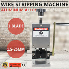 USA Heavy Duty Manual Copper Cable Wire Stripper Stripping Cutter Machine Tool
